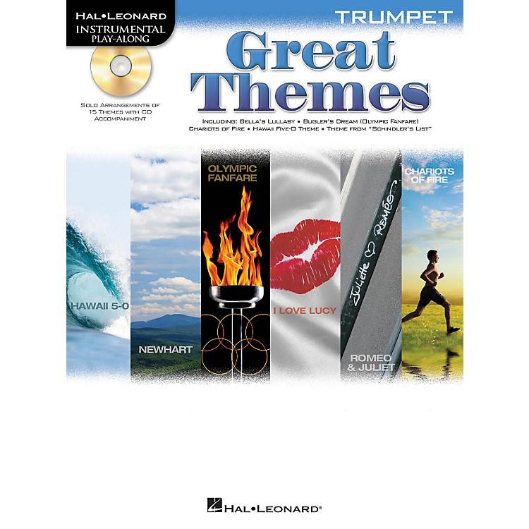 Hal LeonardGreat Themes - Instrumental Play-Along Book/CDTrumpet