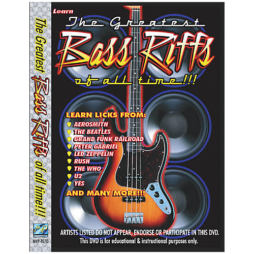 MVP Greatest Bass Riffs of All Time (DVD)-thumbnail