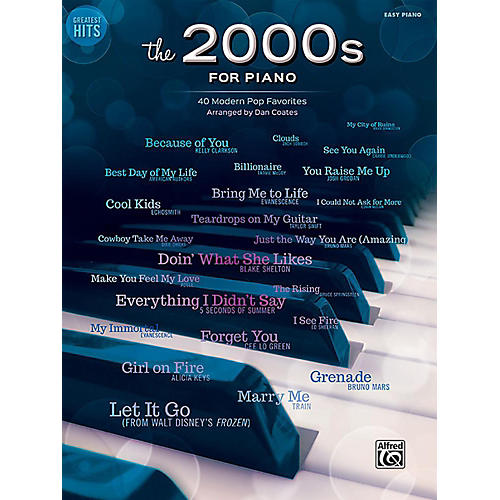 Alfred Greatest Hits The 2000s for Piano Easy Piano Songbook-thumbnail