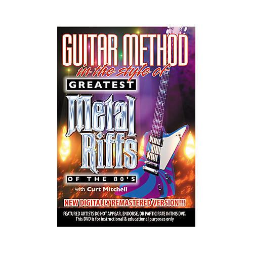 MVP Greatest Metal Riffs of the 80s (DVD)