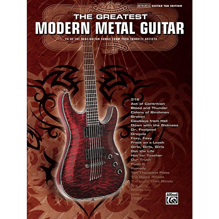 AlfredGreatest Modern Metal Guitar