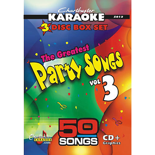 Chartbuster Karaoke Greatest Party Songs Volume 3 CD+G-thumbnail