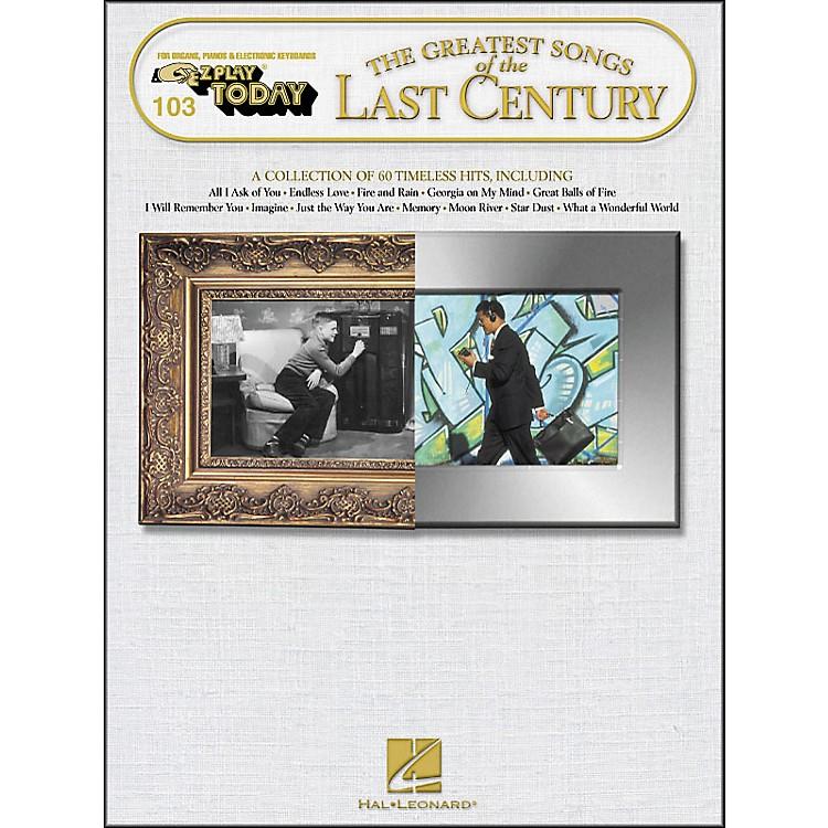 Hal LeonardGreatest Songs Of The Last Century E-Z Play 103