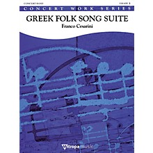 De Haske Music Greek Folk Song Suite (Score Only) Concert Band Composed by Franco Cesarini