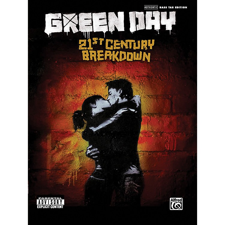 Alfred Green Day - 21st Century Breakdown (Bass Tab Book)