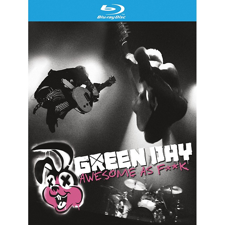 WEA Green Day - Awesome As F**K CD & BLU-RAY or DVD BLU-RAY