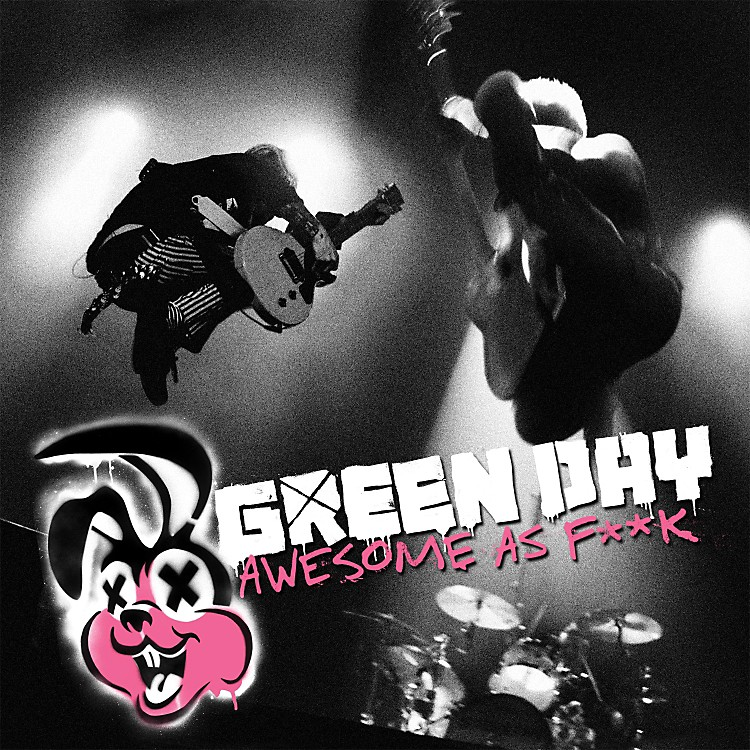 WEA Green Day - Awesome As F**K CD & BLU-RAY or DVD DVD