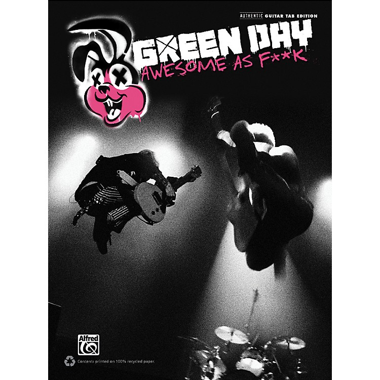 Alfred Green Day - Awesome As F**K Guitar TAB Book