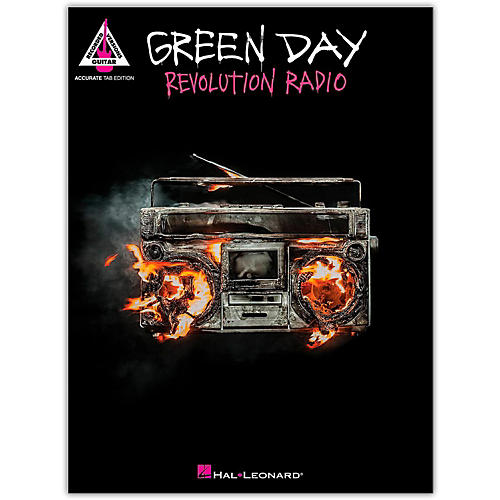 Hal Leonard Green Day - Revolution Radio for Guitar Tab-thumbnail