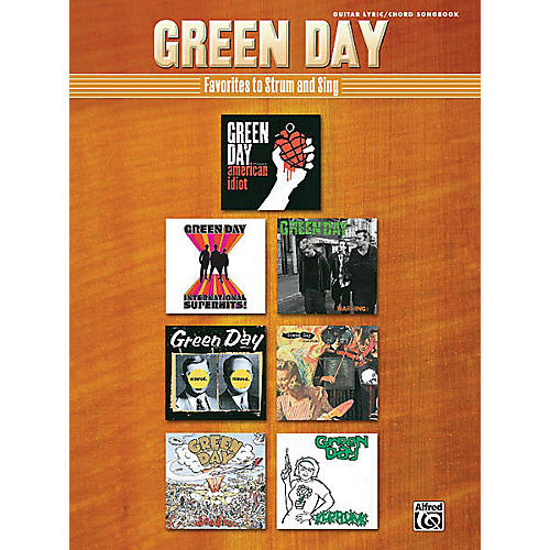 Alfred Green Day - Strum and Sing Guitar Book Series Softcover Performed by Green Day-thumbnail