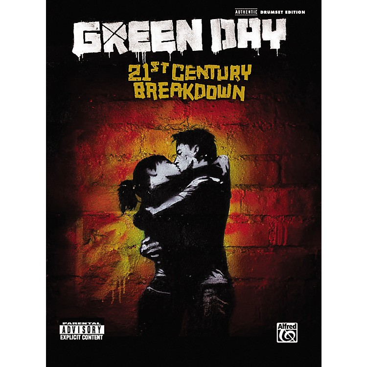 Alfred Green Day: 21st Century Breakdown - Drum Transcriptions (Book)