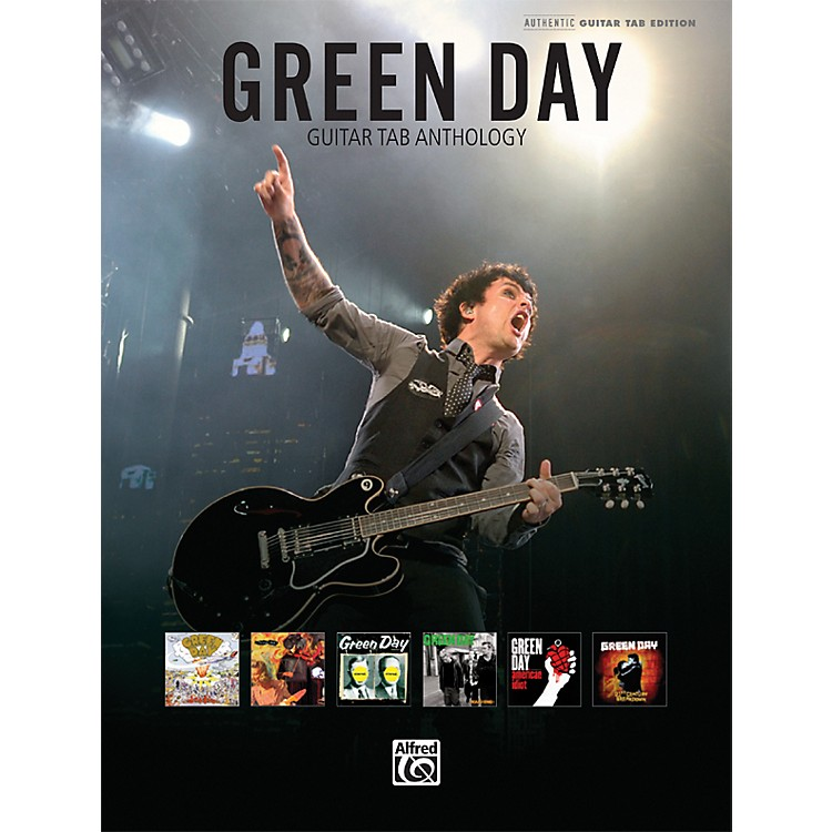 Hal Leonard Green Day Guitar Tab Anthology Book