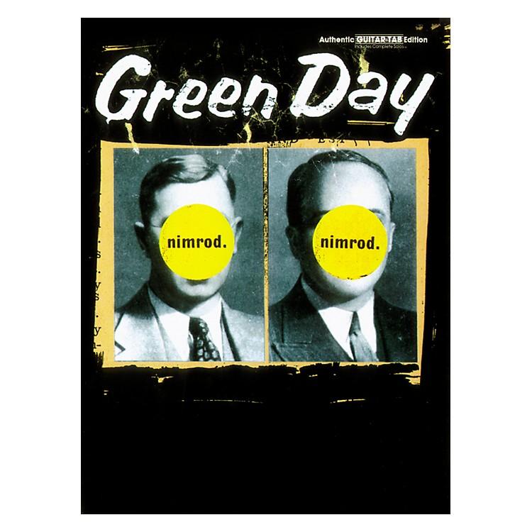 AlfredGreen Day Nimrod Guitar Tab Book