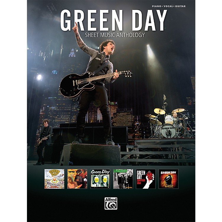 AlfredGreen Day Sheet Music Anthology PVC Book