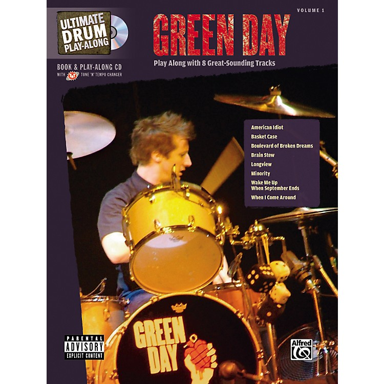 Hal Leonard Green Day Ultimate Drum Book and Play-Along CD
