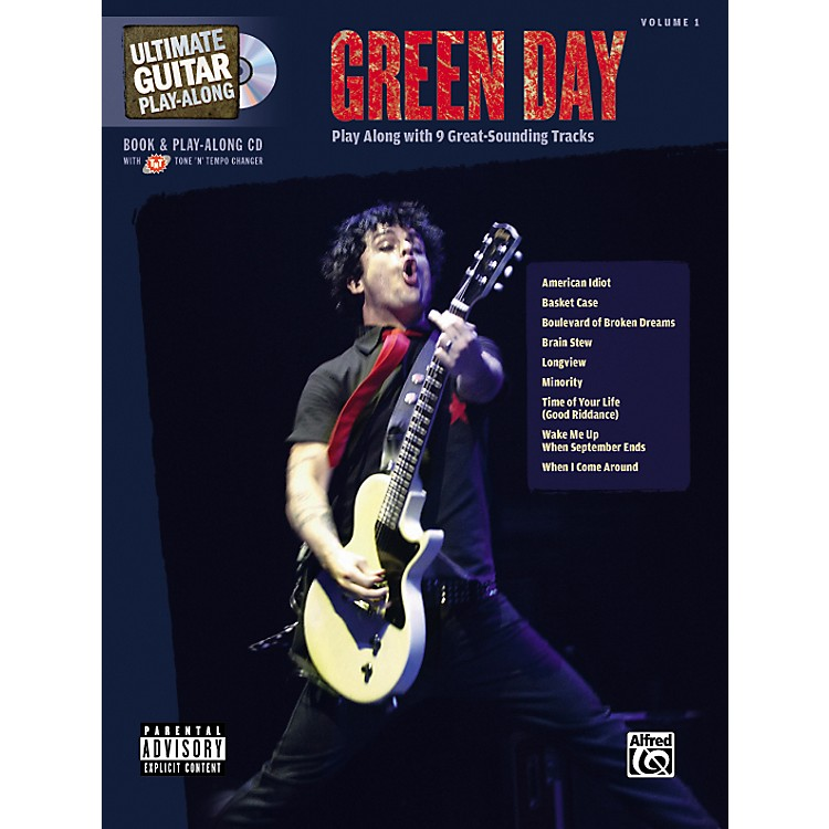 Hal Leonard Green Day Ultimate Play-Along Guitar Tab Songbook with CD