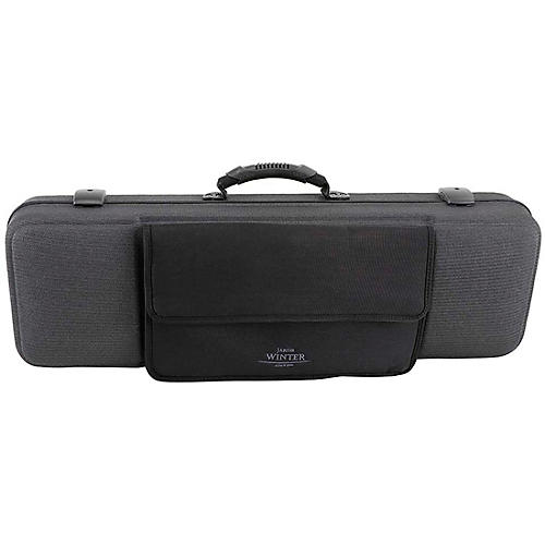 J. Winter Green LinE Series Violin Case with Music Pocket Black Music Pocket