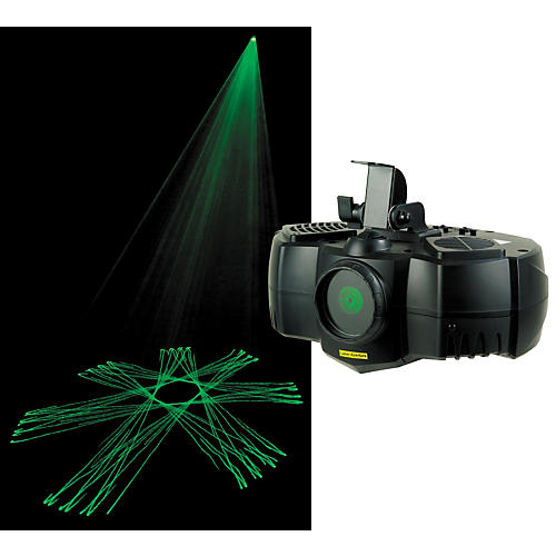 American DJ Green Phantom DMX Laser-thumbnail