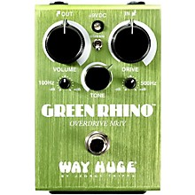 Way Huge Electronics Green Rhino Mini MK4 Overdrive Guitar Effects Pedal