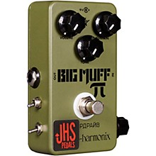 JHS Pedals Green Russian Pi Chernobyl Mod Fuzz Effects Pedal