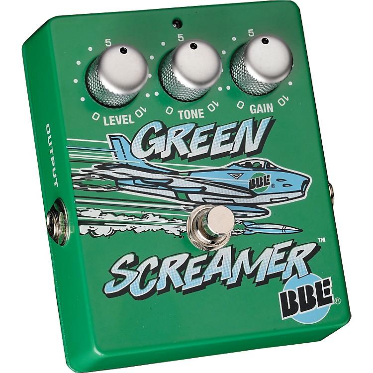 BBEGreen Screamer Vintage Overdrive Guitar Effects Pedal