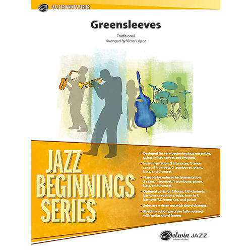 Alfred Greensleeves - Grade 0.5 (Very Easy)-thumbnail