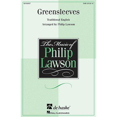 De Haske Music Greensleeves SAB arranged by Philip Lawson-thumbnail