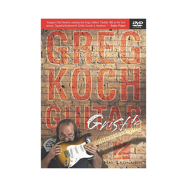 Hal Leonard Greg Koch - Guitar Gristle (DVD)