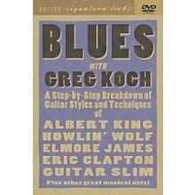Hal Leonard Greg Koch Blues Guitar DVD