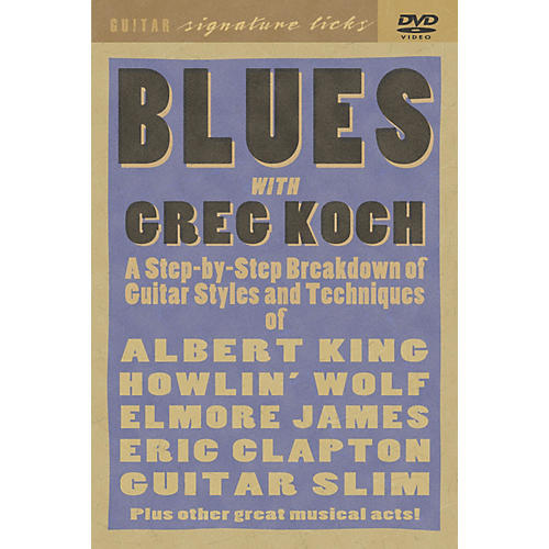 Hal Leonard Greg Koch Blues Guitar DVD