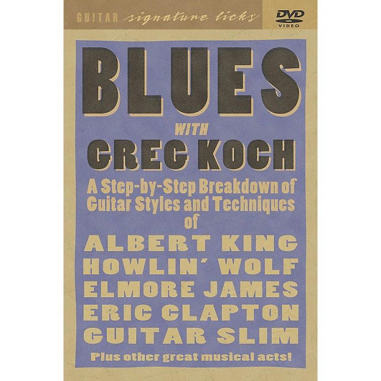 Hal LeonardGreg Koch Blues Guitar DVD