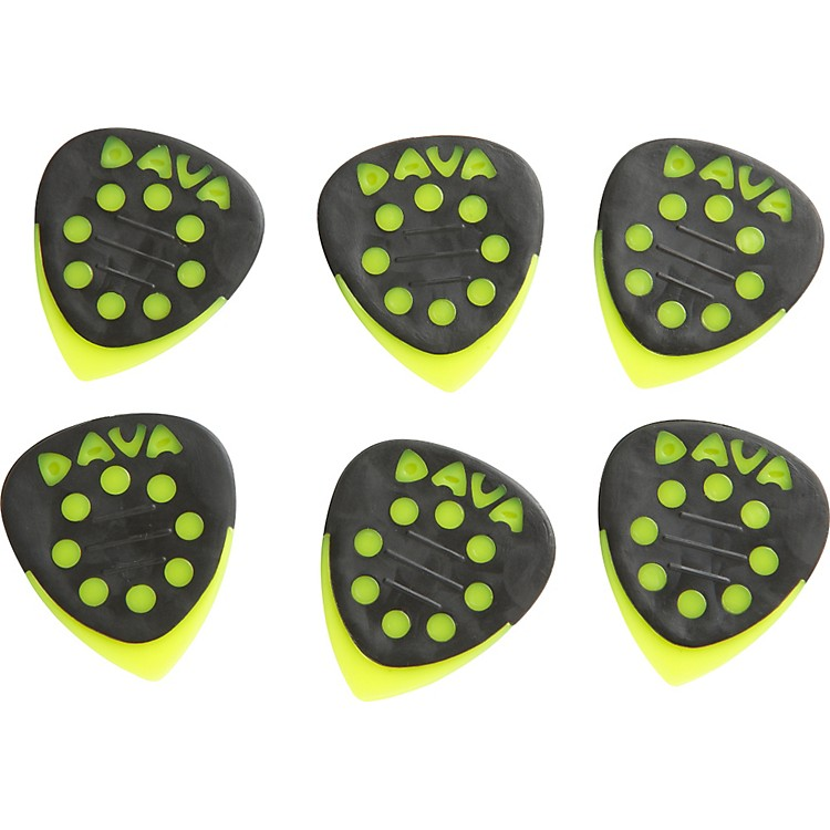 Dava Grip Tips Nylon Medium 6-Pack Light Green