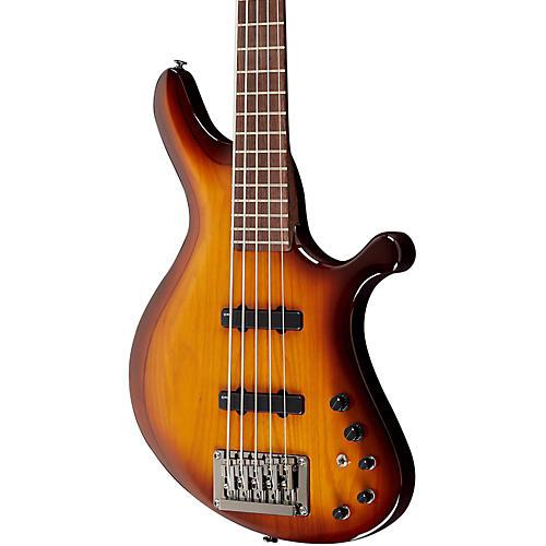 Ibanez Grooveline G105 5-String Electric Bass Guitar Brown Burst