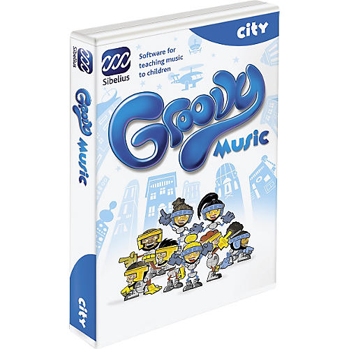 Sibelius Groovy City Music Education Software