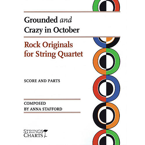 String Letter Publishing Grounded and Crazy in October String Letter Publishing Series Slick Wrap Composed by Anna Stafford-thumbnail