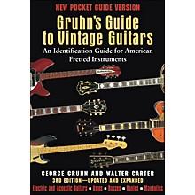 Backbeat Books Gruhn's Guide To Vintage Guitars - Pocket Edition