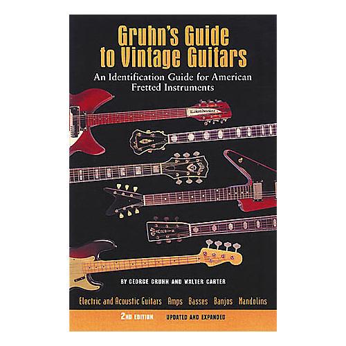 Miller Freeman Gruhn's Guide Vintage Guitars 2nd Edition Book