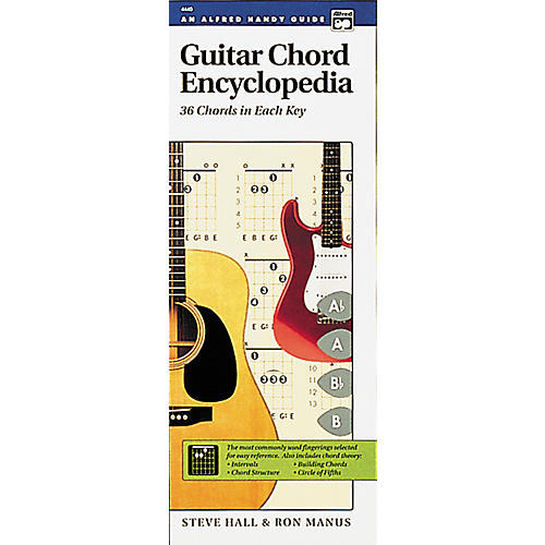 Alfred Guide Guitar Chord Encyclopedia Book