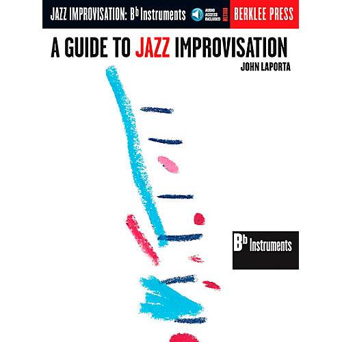 Berklee Press Guide To Jazz Improvisation B Flat Edition Book/CD