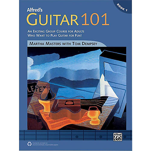 Alfred Guitar 101 Comb Bound Book 1-thumbnail