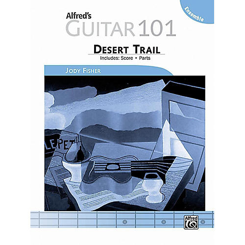 Alfred Guitar 101, Ensemble: Desert Trail - Score & Parts-thumbnail