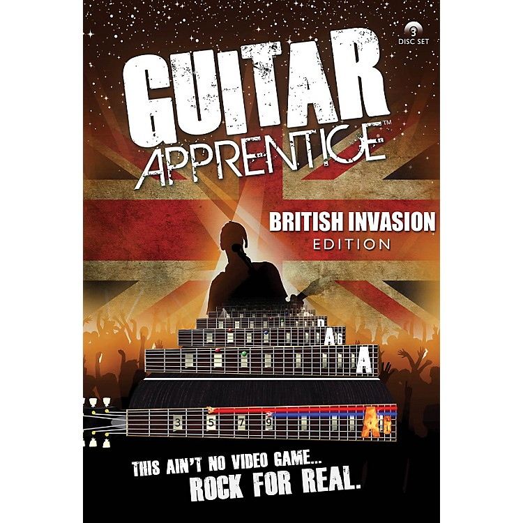 Hal Leonard Guitar Apprentice British Invasion (DVD)
