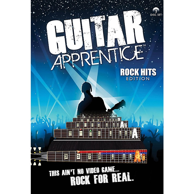 Hal Leonard Guitar Apprentice Rock Hits DVD