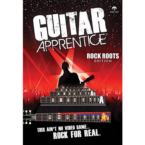 Hal Leonard Guitar Apprentice Rock Roots DVD