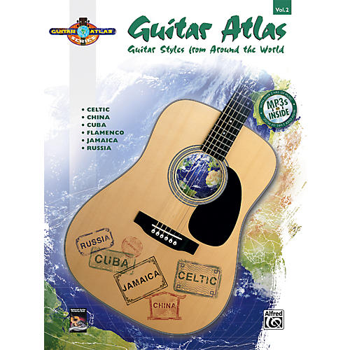 Alfred Guitar Atlas: Complete - Volume 2 (Book/CD)-thumbnail