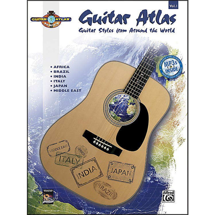 Alfred Guitar Atlas: Complete, Volume 1 (Book/CD)