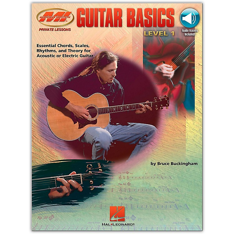 Hal Leonard Guitar Basics Book/CD Package