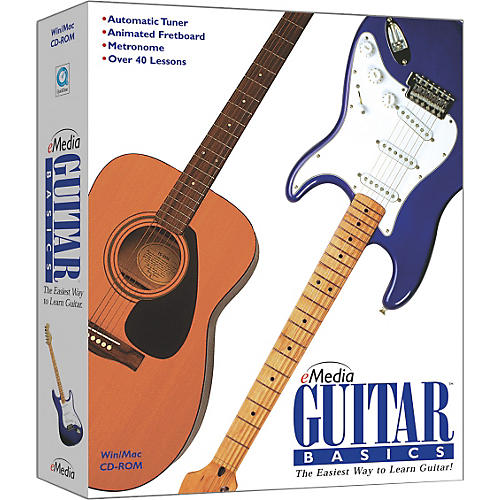 eMedia Guitar Basics Mini-Box
