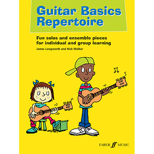 Faber Music LTD Guitar Basics Repertoire Book/CD