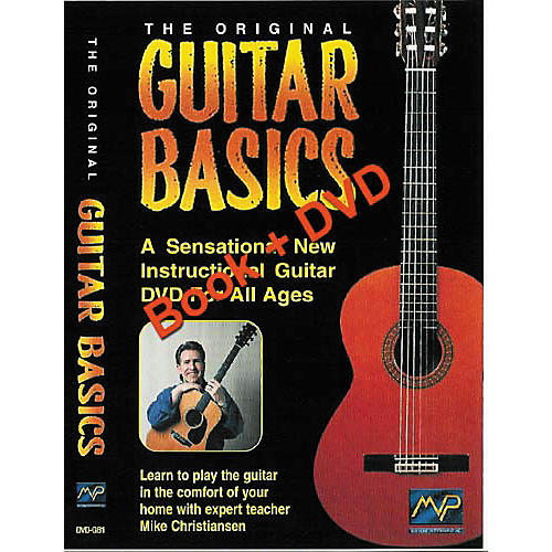 MVP Guitar Basics Volume 1 (Book/DVD)